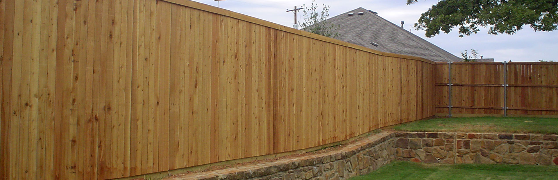 New Wood Fence Contractors - Denton, Texas