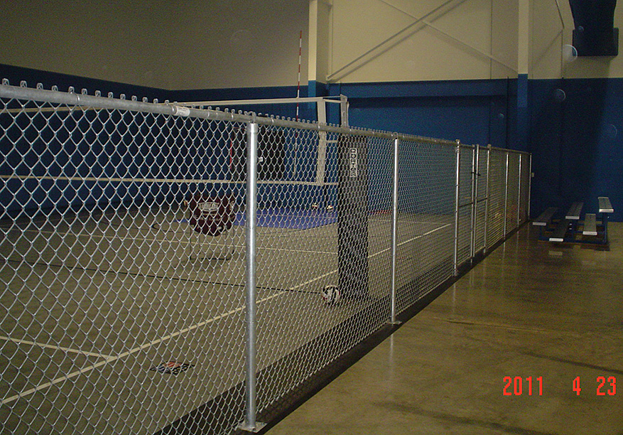 Indoor Chain Link Fencing