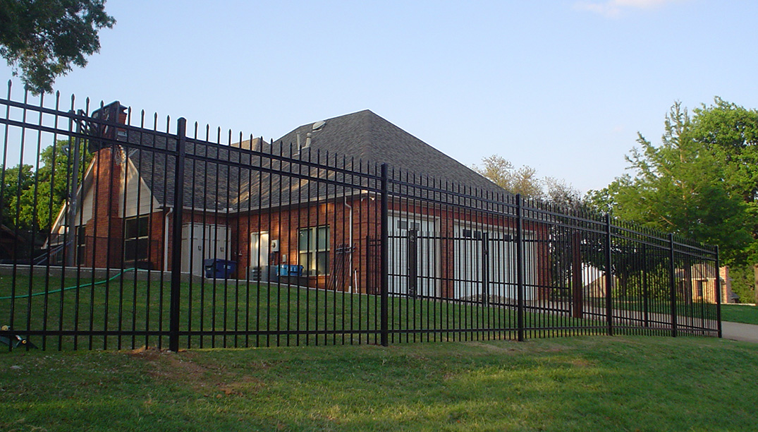 Custom Iron Fences - Denton, Texas