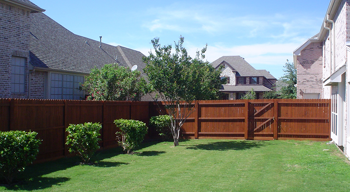 New Residential Fencing