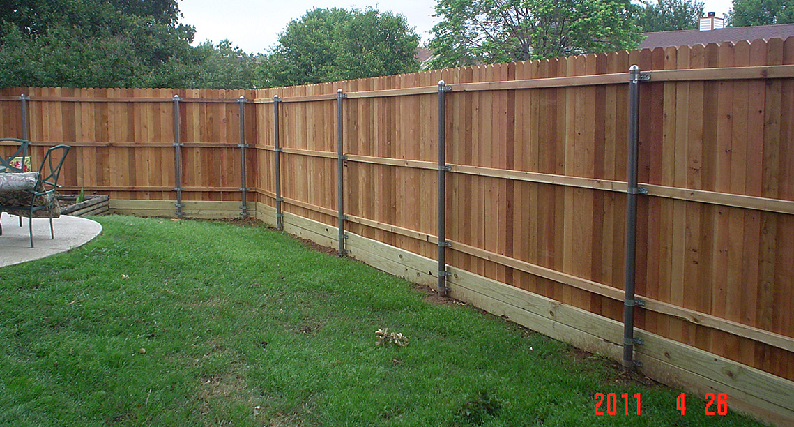 New Fence Construction - Denton, Texas
